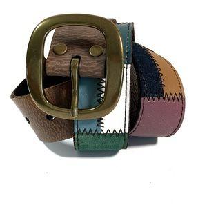 Bohemian Colorblock Belt